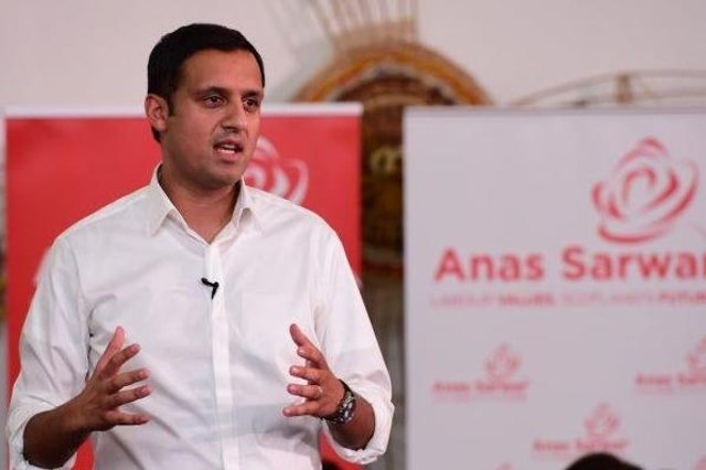 Anas Sarwar has launched his leadership campaign