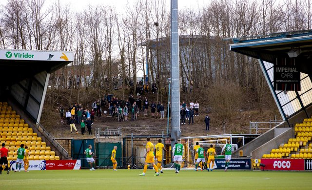 Fans have been locked out of Scottish football grounds this season. Picture: SNS