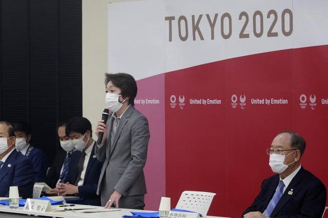 Tokyo 2020 Organising Committee President Seiko Hashimoto. Picture: Koji Sasahara/AP