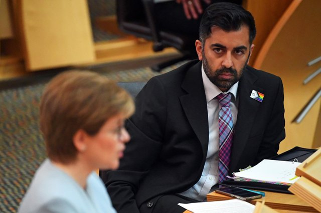 Humza Yousaf has, quite rightly, refused to apologise for going to the Harry Potter studios with his family (Picture: Andy Buchanan/PA)
