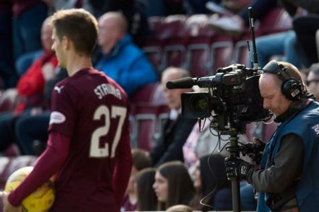 Cameras followed the fortunes of Hearts last season. Picture: SNS