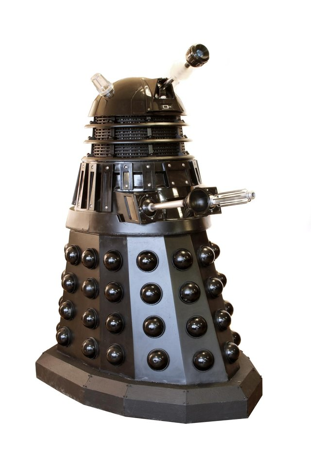 Lot 124, an on-screen used Doctor Who Dalek Sec from Sworder's 'Out of the Ordinary' auction taking place on April 13 (Photo: Sworders).