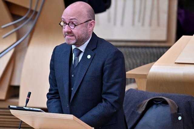 Patrick Harvie during the motion of condolence for The Duke of Edinburgh yesterday (Photo by Jeff J Mitchell/Getty Images)