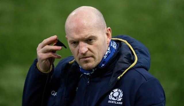 Head coach Gregor Townsend. (Photo by Craig Williamson / SNS Group)