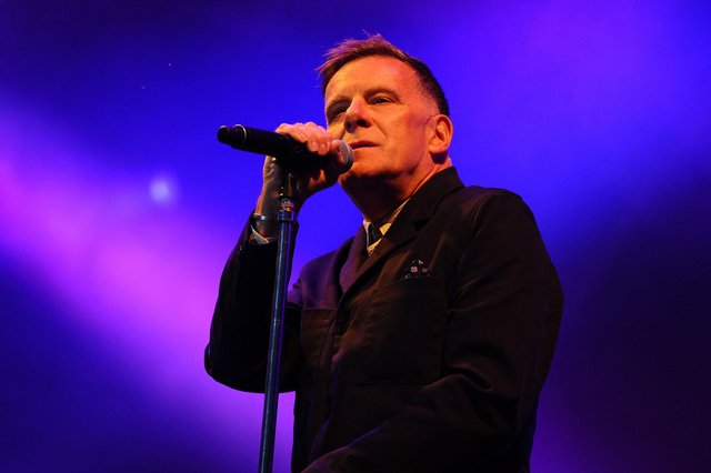 Deacon Blue singer Ricky Ross recorded a special solo version of the band's anthem 'Dignity' for fan Bill Cox. Picture: Michael Gillen.