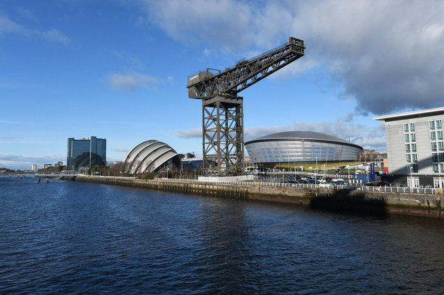Kevin Rush, director of regional economic growth at Glasgow City Region, cites aims such as seeing the River Clyde brought back into 'productive use'. Picture: John Devlin.