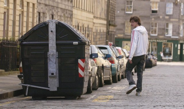 Communal street bins in the New Town are proving controversial once more. Picture: JPIMedia