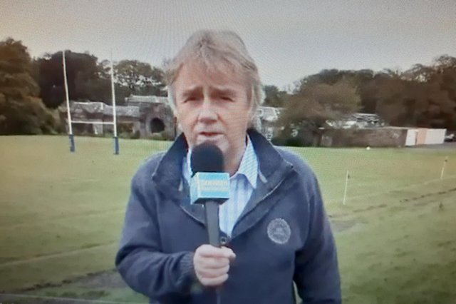 Ron Evans was a champion of the club game and was founder, presenter and commentator of Scottish Rugby TV.