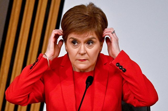 First Minister Nicola Sturgeon gives evidence to a Scottish Parliament committee examining the handling of harassment allegations against former first minister Alex Salmond. Picture: Jeff J Mitchell/Getty Images