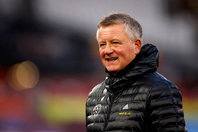 Chris Wilder is set to leave Sheffield United on Friday after almost five years with the Yorkshire club. Picture: SNS
