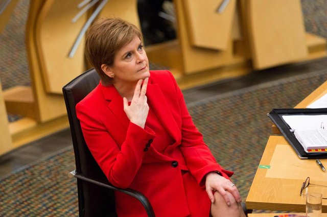Nicola Sturgeon's problems include a small but eloquent cohort of long-time independence supporters who fear she will fail to seize the moment (Picture: Robert Perry/pool/AFP via Getty Images)