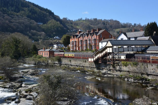 Llangollen, one of the stops on the new High Life route planned by Black Prince Holidays, along the Llangollen Canal to Ellesmere and back.