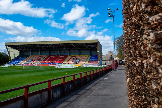 A general view of Glebe Park, the home of Brechin City