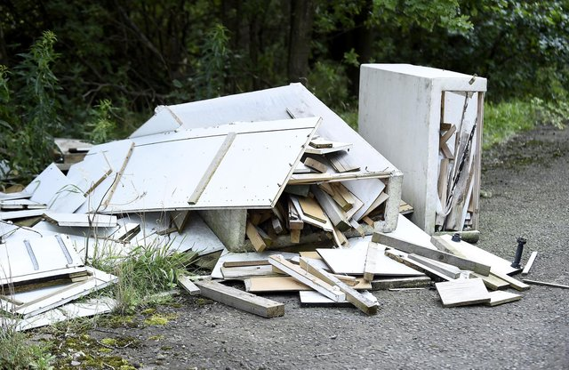 Fly tipping is becoming a problem. Picture: Lisa Ferguson/JPIMedia
