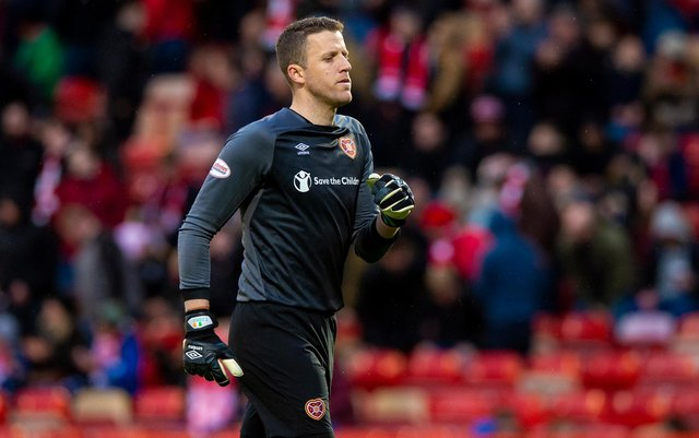 Colin Doyle has left Hearts to join Kilmarnock on loan.