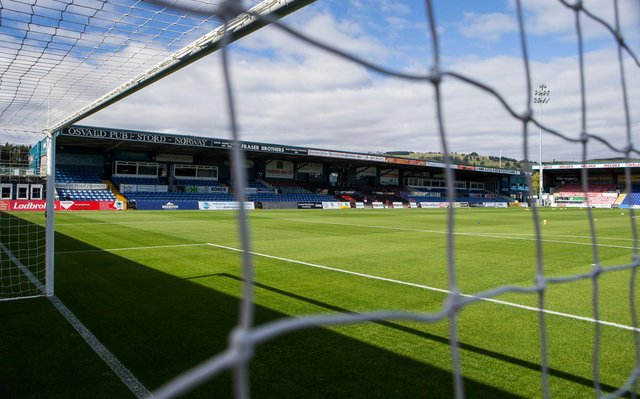 The Global Energy Stadium, home of Ross County