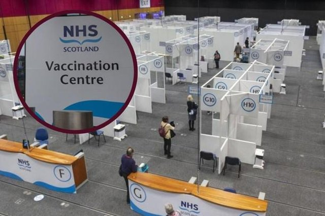 The EICC was set up as a mass vaccination centre