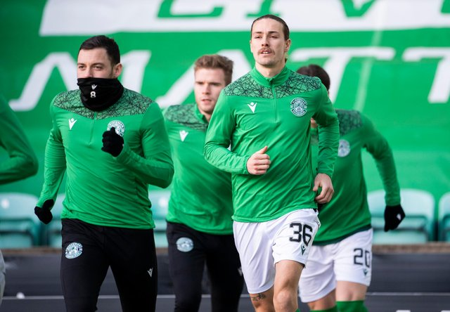 Jackson Irvine is delighted to be involved at Hibs.