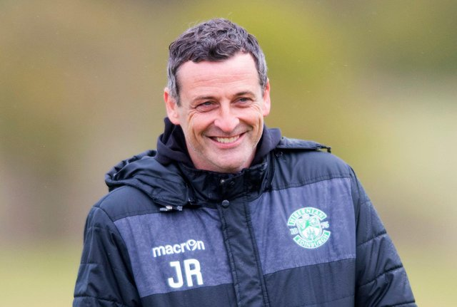 Hibs manager Jack Ross is hoping the Scottish Cup will provide his side with an extended run in European competition. Photo by Mark Scates / SNS Group