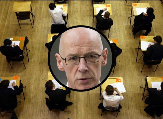 John Swinney has announced the cancellation of Higher exams in 2021
