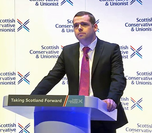 Douglas Ross is hoping to emulate Ruth Davidson's successes in the 2016 election