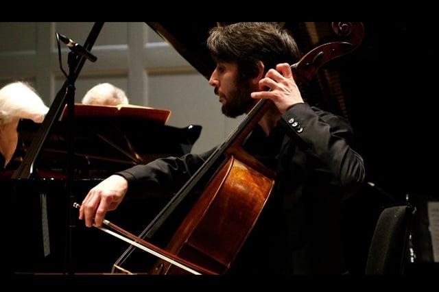 Cellist Philip Higham