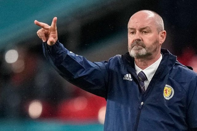 Steve Clarke knows what his Scotland side need to do to qualify. (Photo by FRANK AUGSTEIN/POOL/AFP via Getty Images)