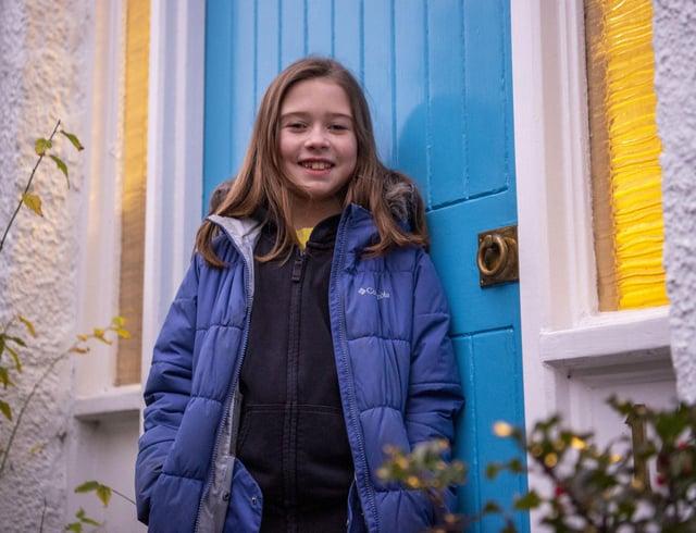 Eilidh Leheny, 10, has enamel hypoplasia, meaning the enamel on her teeth is very thin.