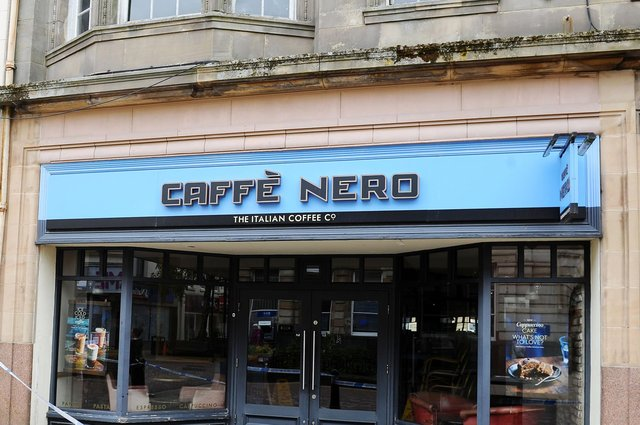 Caffe Nero has become a popular sight on Scottish high streets and shopping centres. Picture: Michael Gillen