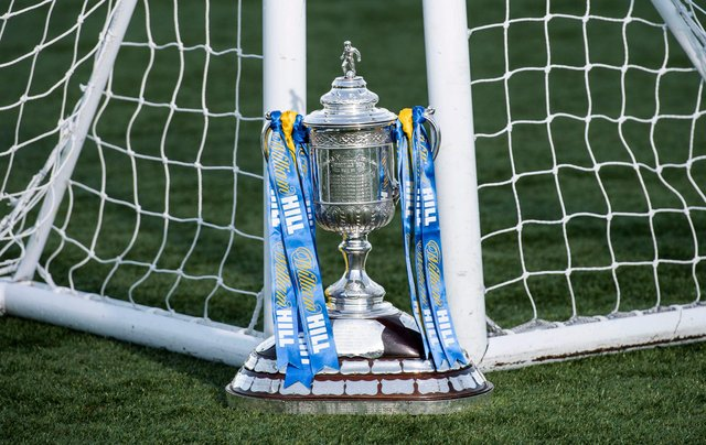 The Scottish Cup trophy. Picture: SNS