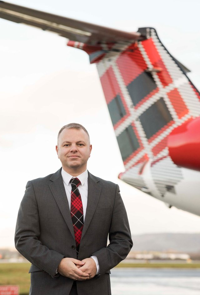 Loganair chief executive Jonathan Hinkles has called for a swift decision on travel restrictions