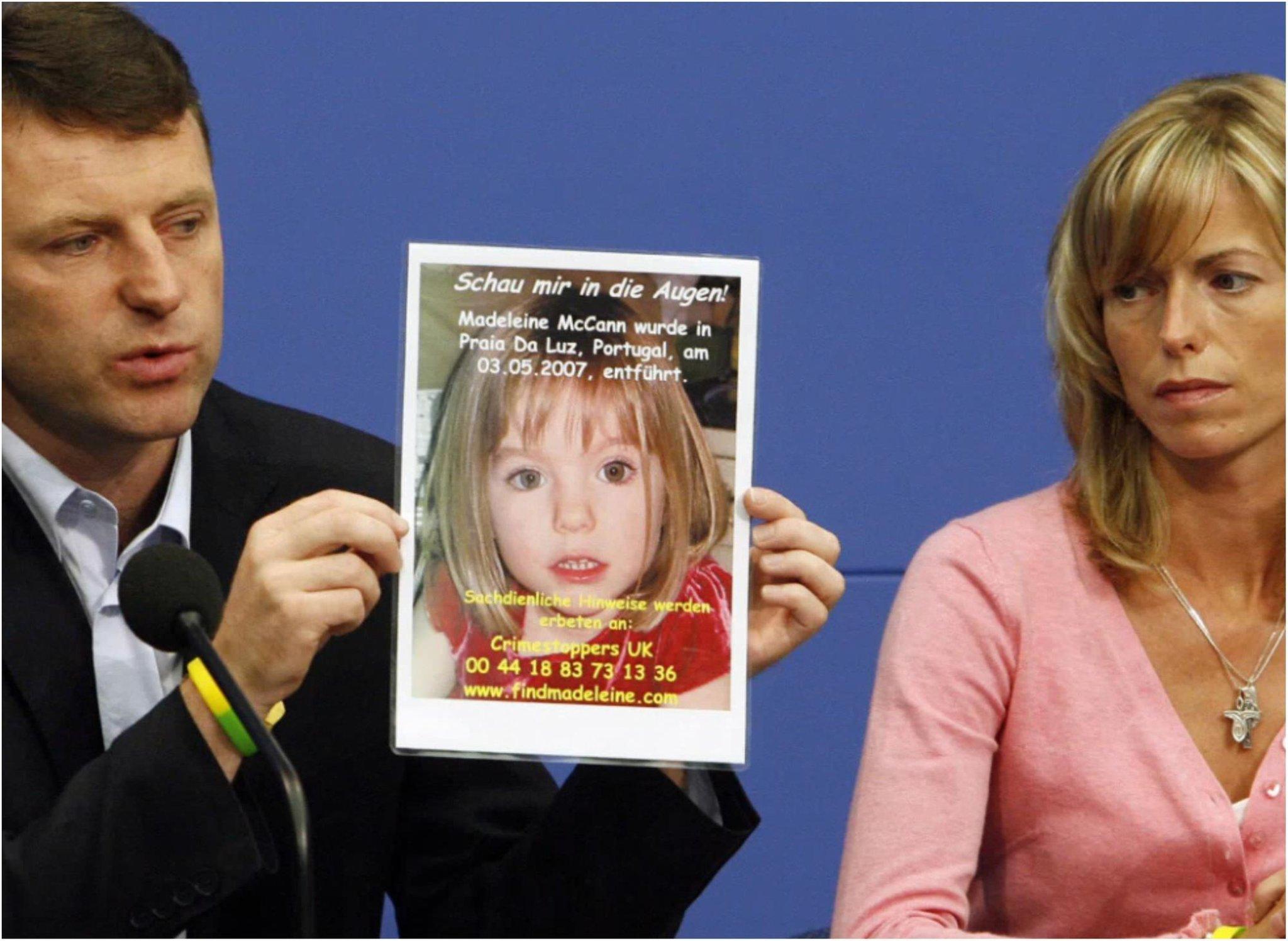 Madeleine McCann's parent's voice 'hope and determination' to find her