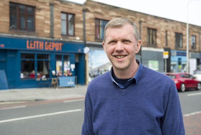 Councillor Rob Munn Leith is 'disappointed' report was leaked