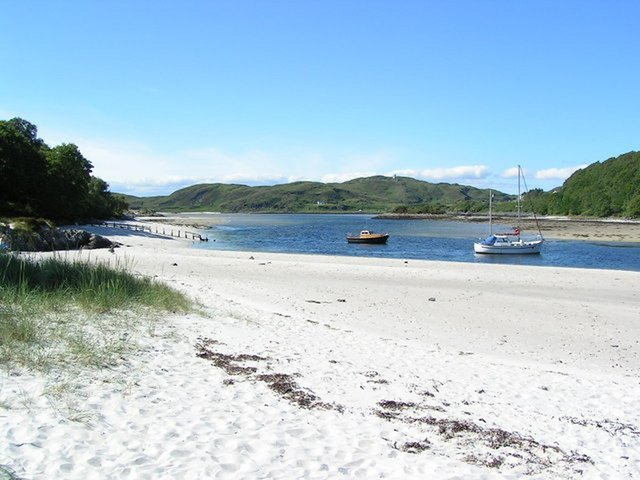 The beauty of Silver Sands of Morar is being spoiled by dirty campers and irresponsible tourists with calls for an emergency plan to deal with rising visitor numbers. PIC: Norrie Adamson/geograph.org.