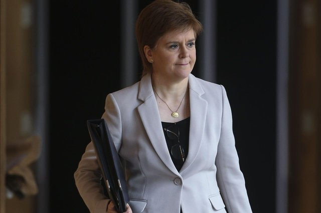 """First Minister Nicola Sturgeon has declared today as a """"good day"""" in the battle against coronavirus."""