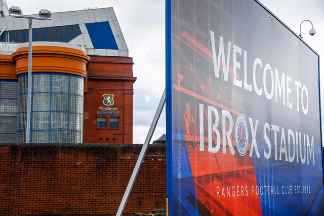 Ibrox is set to host 8,500 fans on Saturday for a game against Brighton. (Photo by Rob Casey / SNS Group)