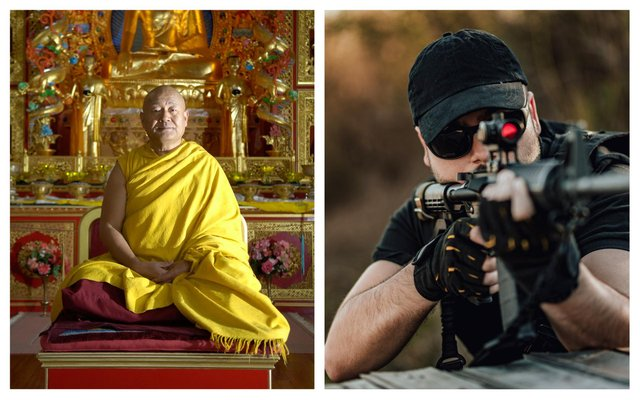 Lama Yeshe Rinpoche of the  Kagyu Samye Ling Tibetan Monastery and Buddhist Centre for World Peace at Eskdalemuir, Dumfries and Galloway, is leading objections to a long-distance shooting range which has set up nearby and which is set to be used by US Air Force special forces for training. PIC: Getty.