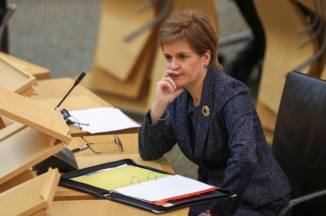 Nicola Sturgeon says she is 'deeply disappointed' by the decision from North Lanarkshire Council to defund Women's Aid services.