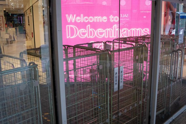 The high street has seen a string of high-profile failures including department store chain Debenhams.