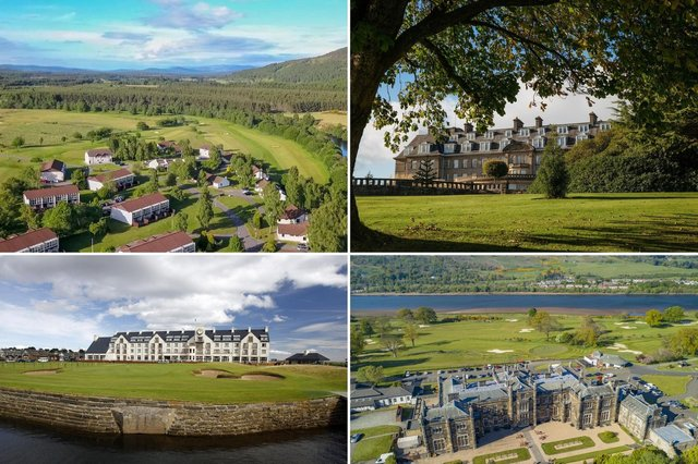 Scotland has some of the world's finest golfing hotels.