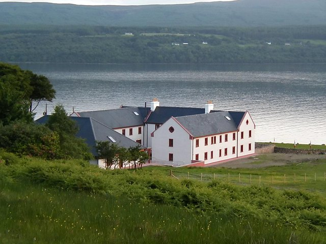 Holy Isle, near Arran in the Firth of Clyde, is home to community of Tibetan Buddhists