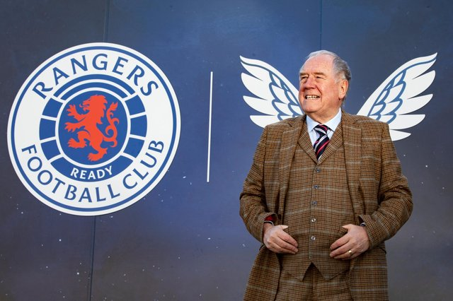 On a wing and a prayer, Andy Cameron is dressed up fine for what he hopes will be a championship-clinching weekend for his beloved Rangers