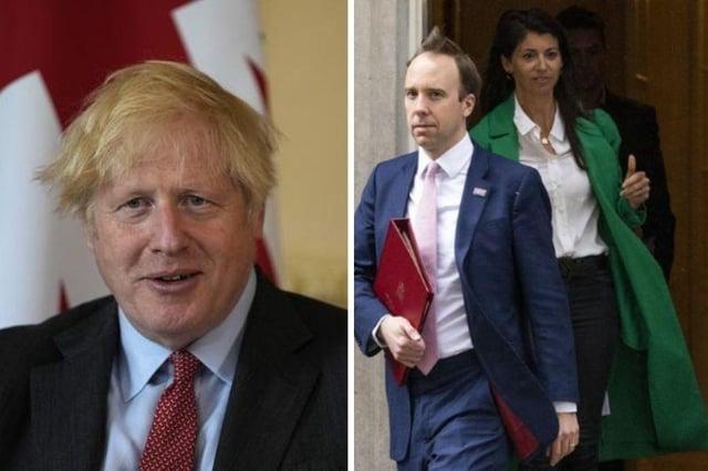 Boris Johnson risks 'jeopardising vital public health measures' by clinging onto Health Secretary after Gina Colangelo scandal says SNP.