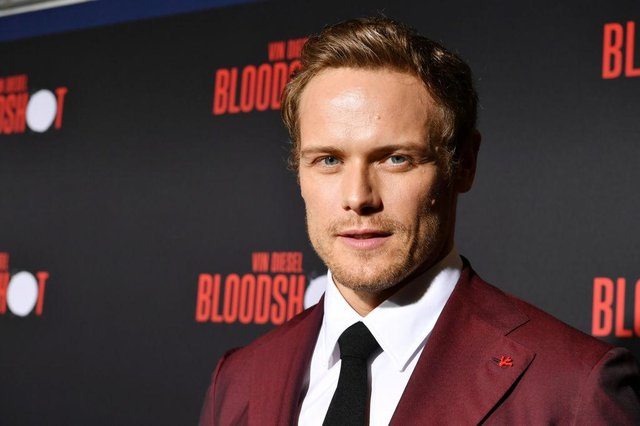 Sam Heughan has become a huge star in Hollywood thanks to his starring role in Outlander. Picture: Getty
