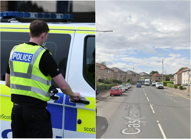 King's Park: Attempted murder investigated as car tried to knock over man in Glasgow