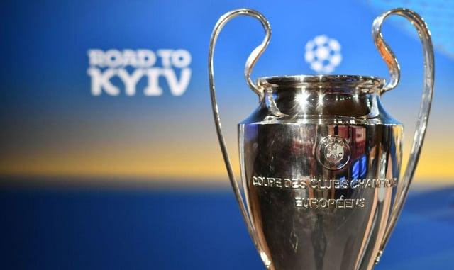 The Uefa Champions League trophy. Picture: SNS