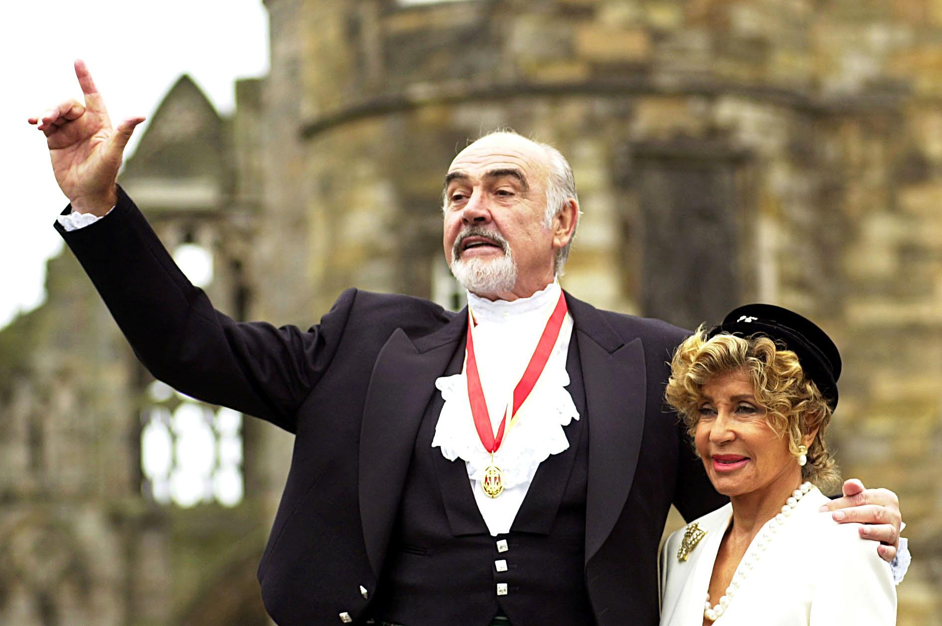 Sir Sean Connery's widow Micheline shares James Bond actor's final moments  as he 'slipped away without a fuss'   The Scotsman