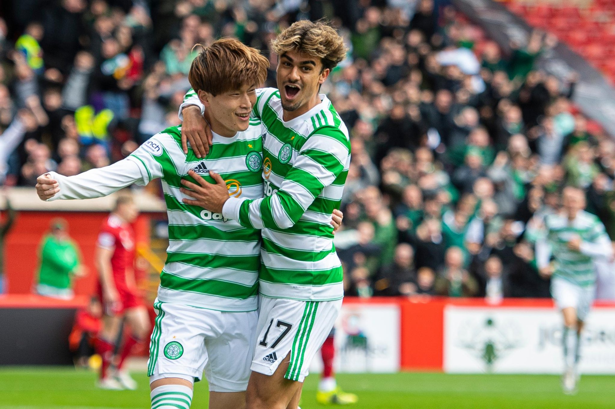 Pemain sayap Celtic Jota mengungkapkan sikap luar biasa untuk membina persahabatan dengan rekan setimnya Kyogo Furuhashi