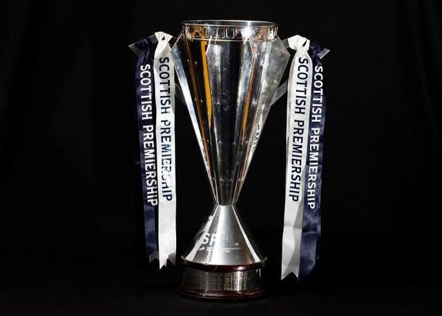 The Scottish Premiership Trophy (Photo by Craig Williamson / SNS Group)