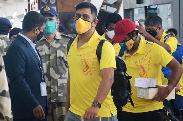 Chennai Super Kings captain Mahendra Singh Dhoni.
